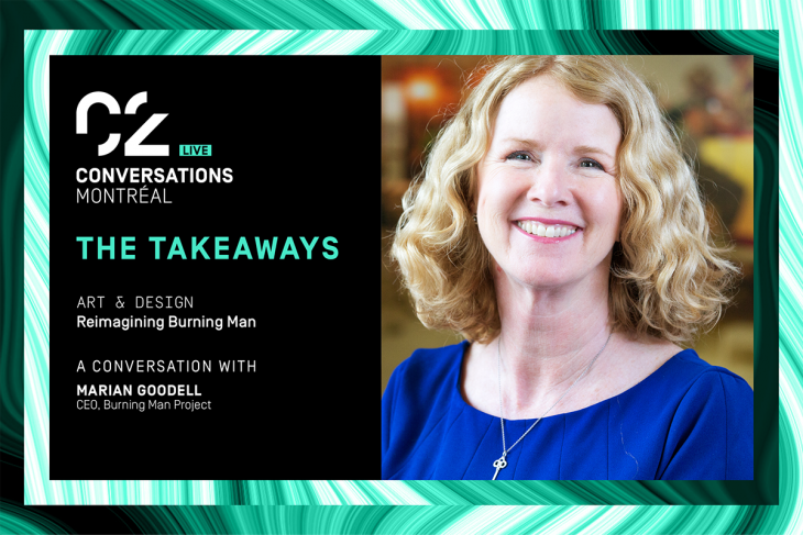 The Takeaways: reimagining Burning Man a conversation with Marian Goodell