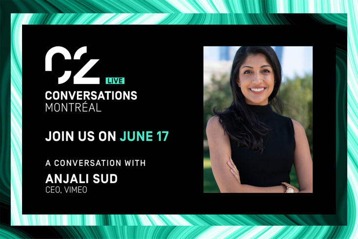 C2 Conversations Live Join us on June 17 a conversation with anjali sud ceo, vimeo