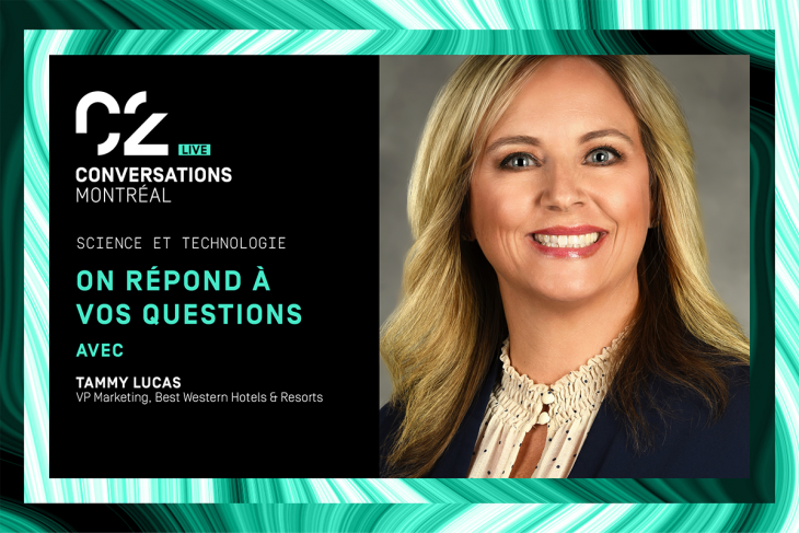 science and technology, asked and answered with Tammy Lucas, VP marketing, Best Western Hotels and resorts