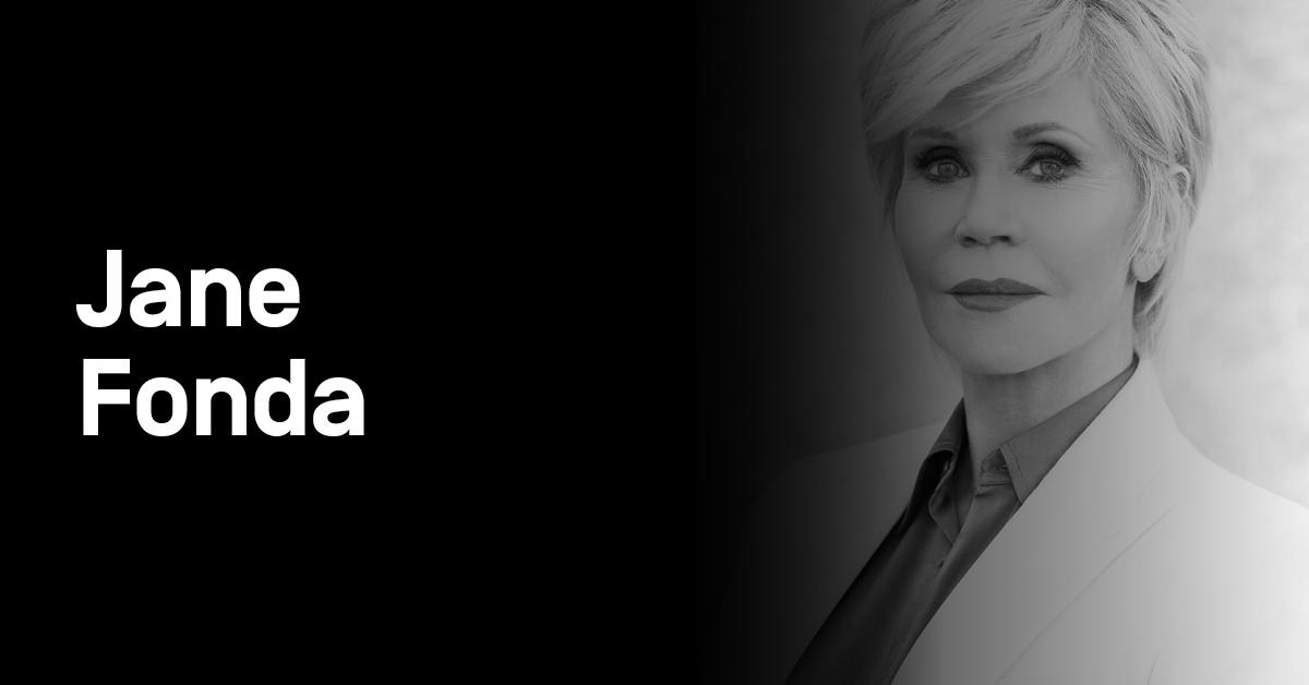 portrait of Jane Fonda