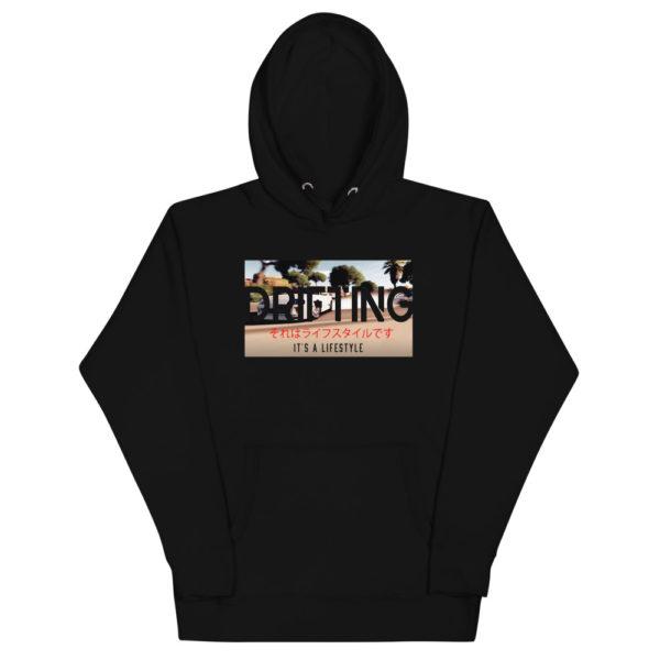 059400f0 unisex premium hoodie black front 6079e47e2465f