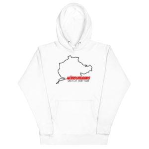9183e653 unisex premium hoodie white front 6079f03981eef