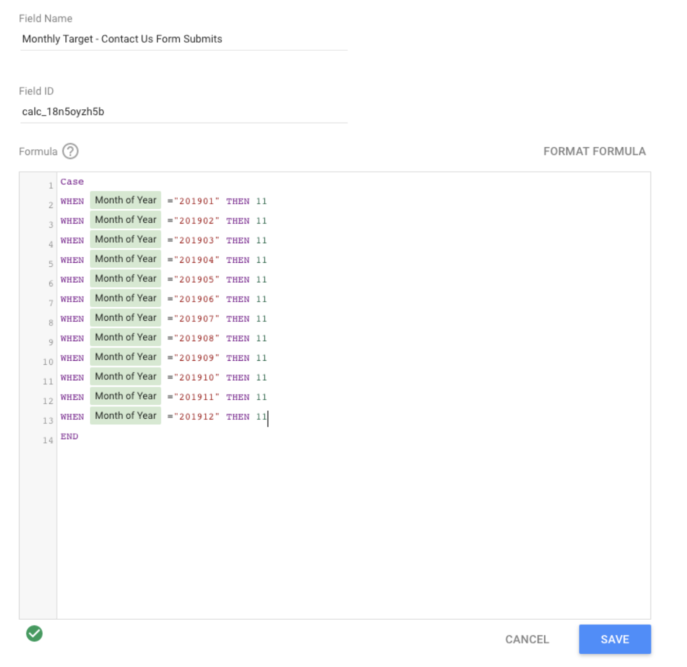 Google Data Studio Data Source Management