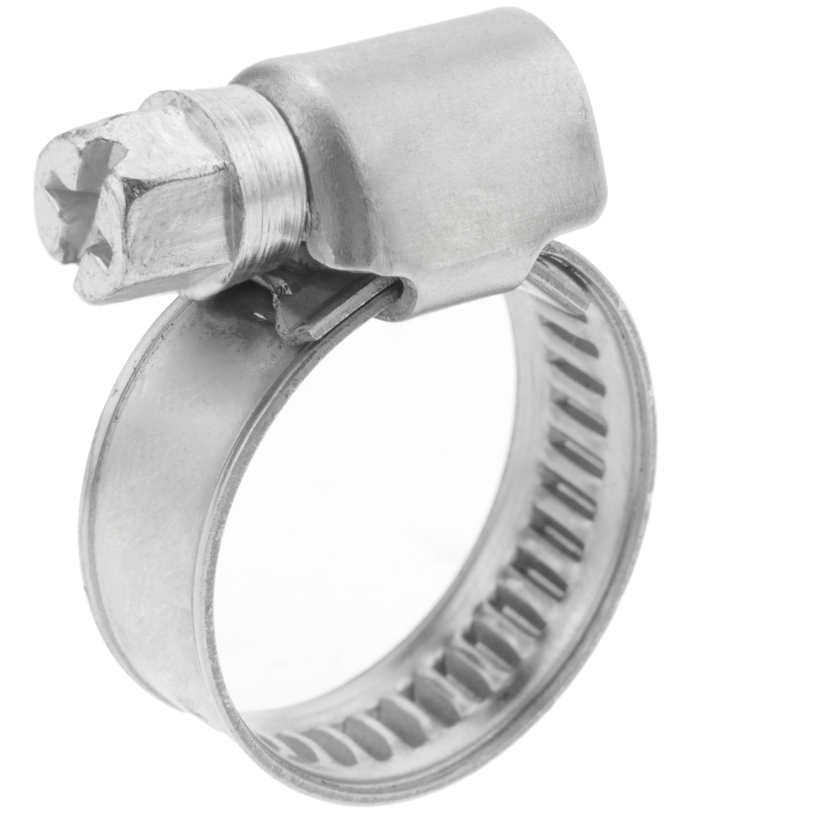 Lot de 2 colliers de serrage r/églables en acier inoxydable /Ø 60-80 mm