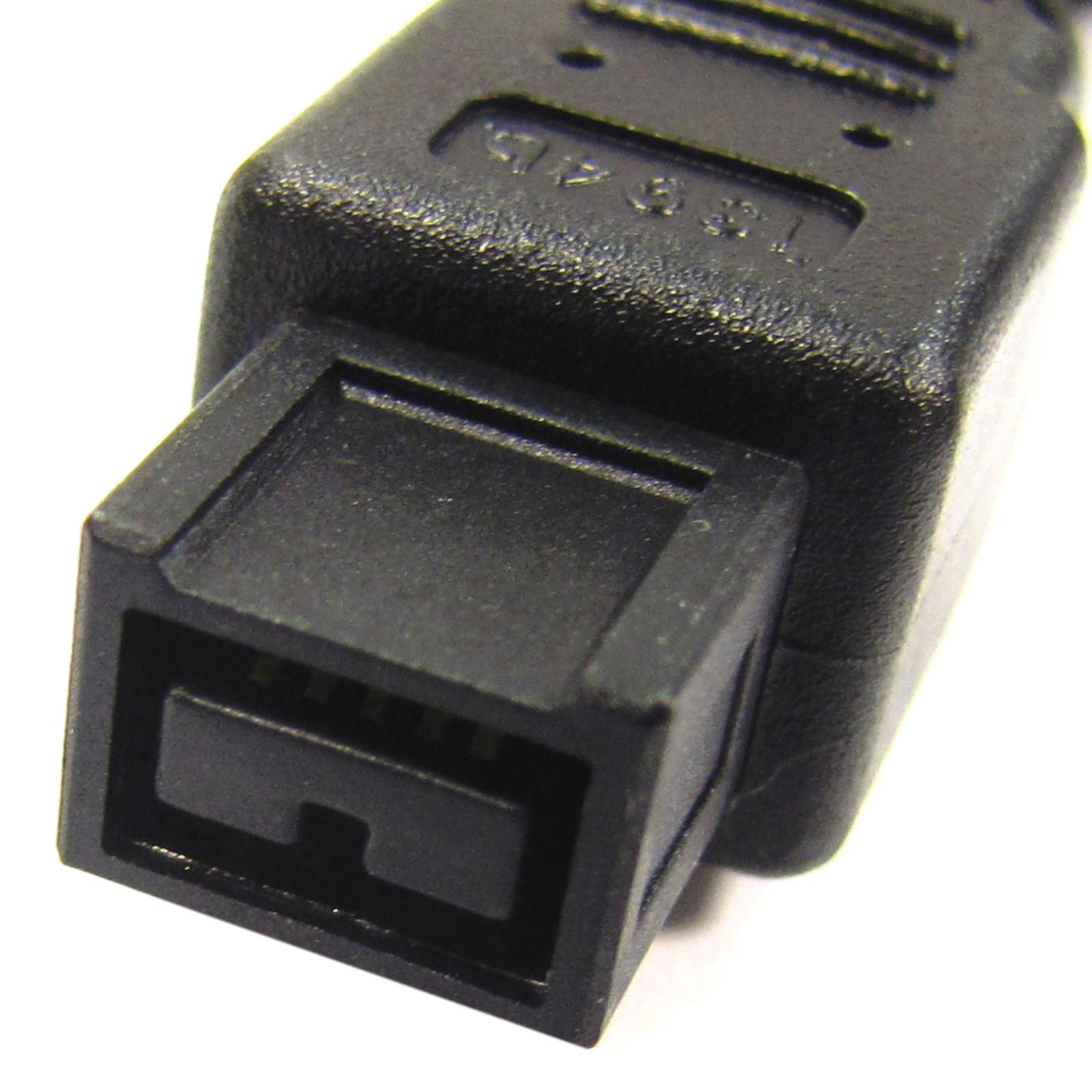IEEE 1394b Super c/âble FireWire 800 Cablematic Bilingual//4-Pin 3m
