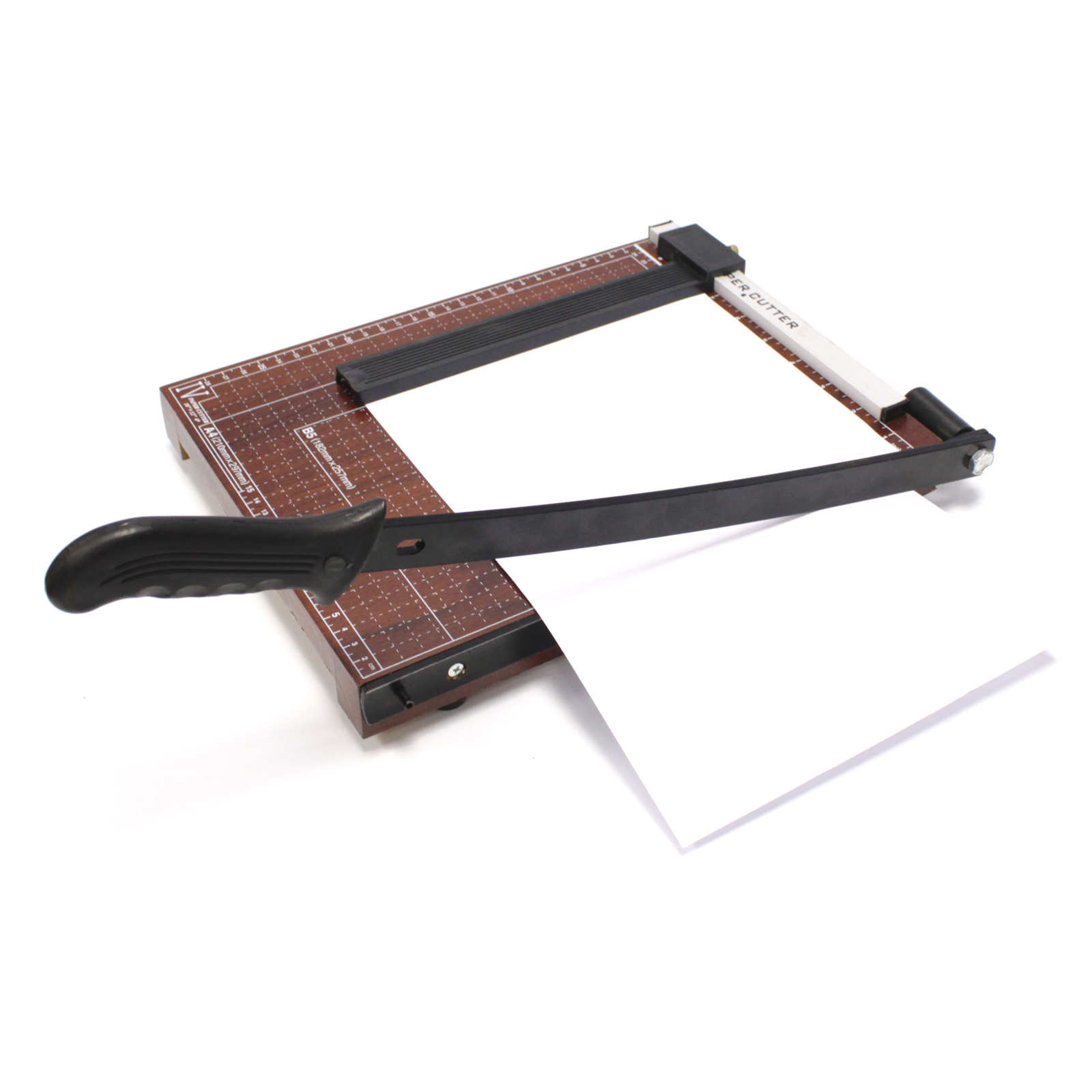 papel A4 cart/ón y papel Palanca Cortador de metal m/áquina de cortar para foto