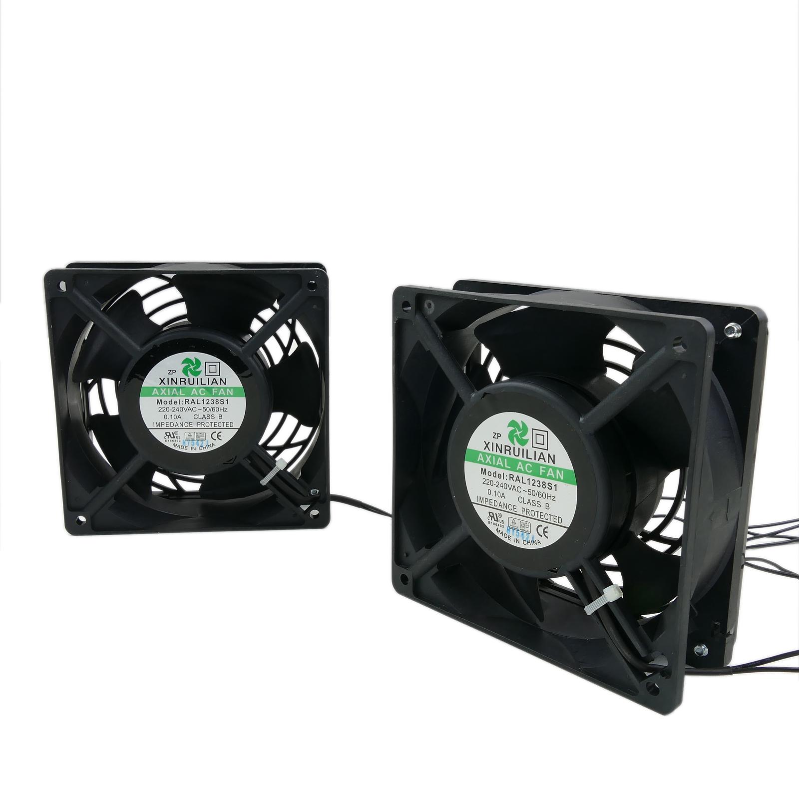 230 V AC rack 120x120x38mm Ventilateur pour Serveur- uvm 36db Panneau