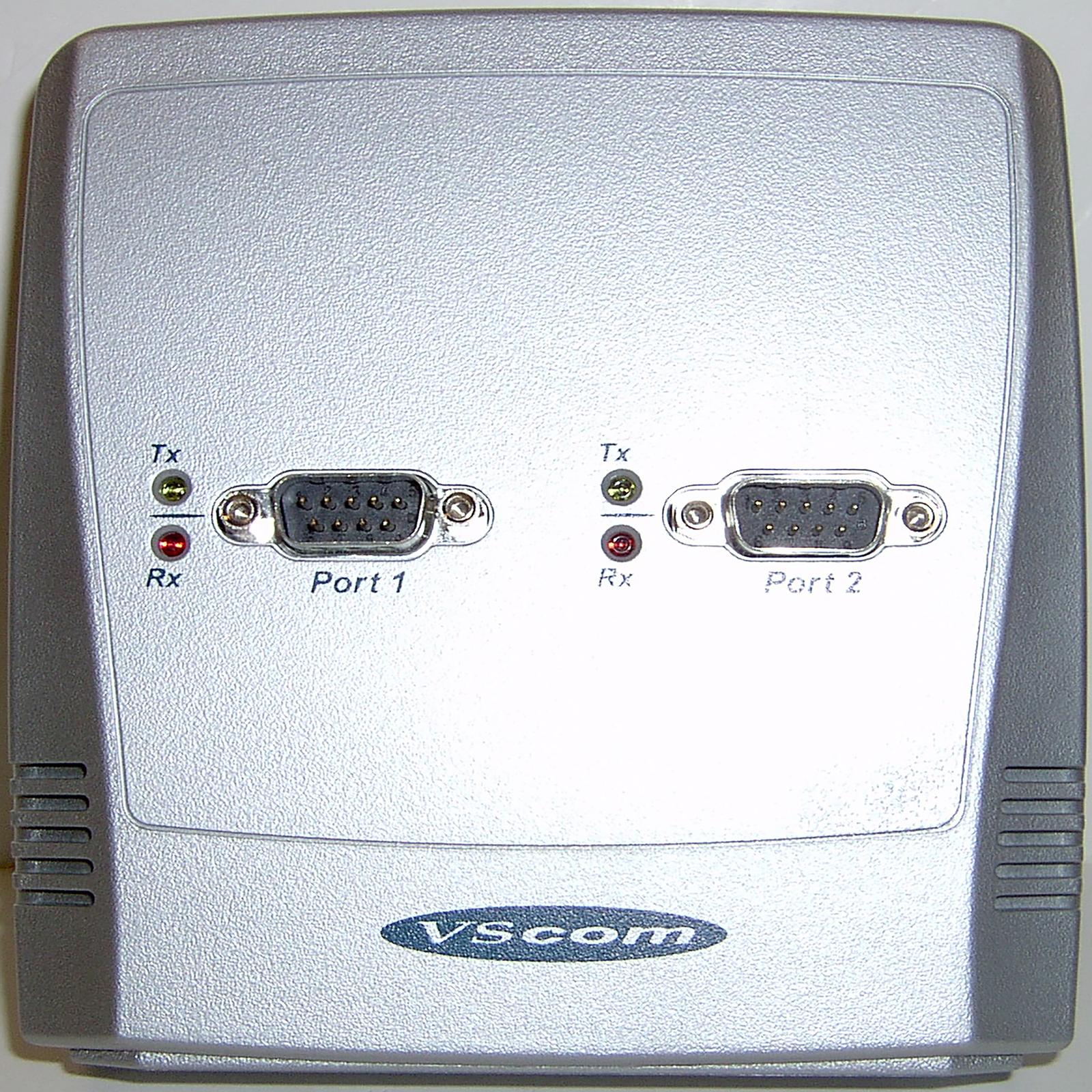 Titan USB to 2-Port Serial Adapter