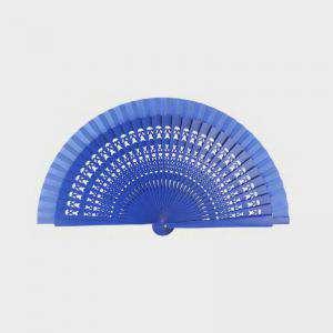 Abanico Calado 19 cm - Abanicos Calados 19 cm AZUL FRANCIA (Últimas Unidades)-R