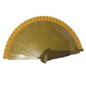 Abanico Liso 23 cm - Abanico Liso 23 cm DORADO VERDOSO (Últimas Unidades)
