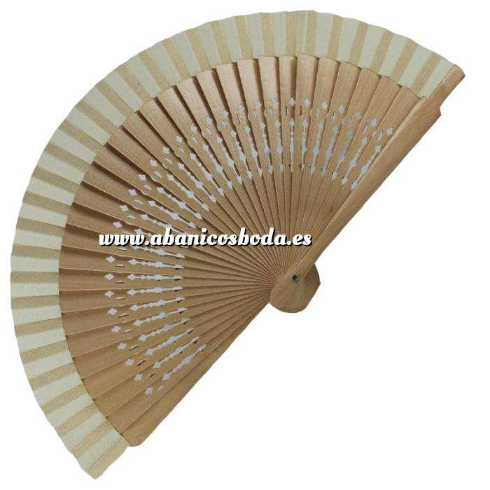 Imagen Abanico Calado 16 cm Abanico Calado 16 cm Natural (Últimas Unidades)