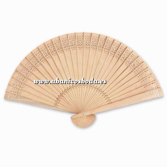 Imagen Abanicos de Sándalo 21 cms Abanicos Calados de Sándalo - 20 cm (OFERTA VERANO) (Últimas Unidades)