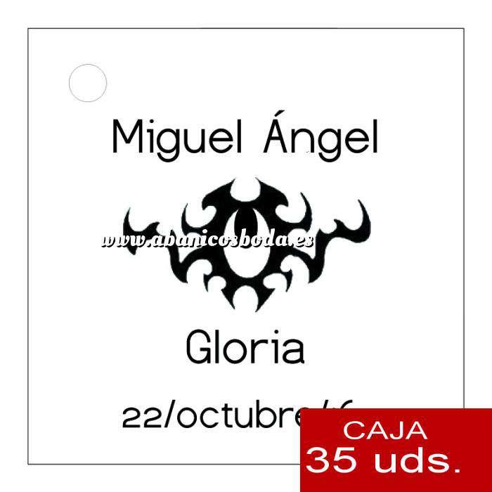 Imagen Etiquetas impresas Etiqueta Modelo C16 (Paquete de 35 etiquetas 4x4)
