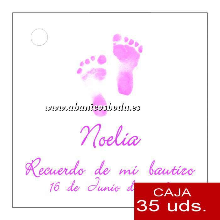 Imagen Etiquetas impresas Etiqueta Modelo C24 (Paquete de 35 etiquetas 4x4)