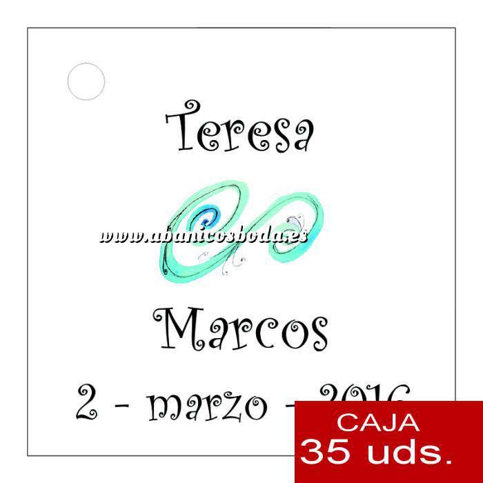 Imagen Etiquetas impresas Etiqueta Modelo D06 (Paquete de 35 etiquetas 4x4)