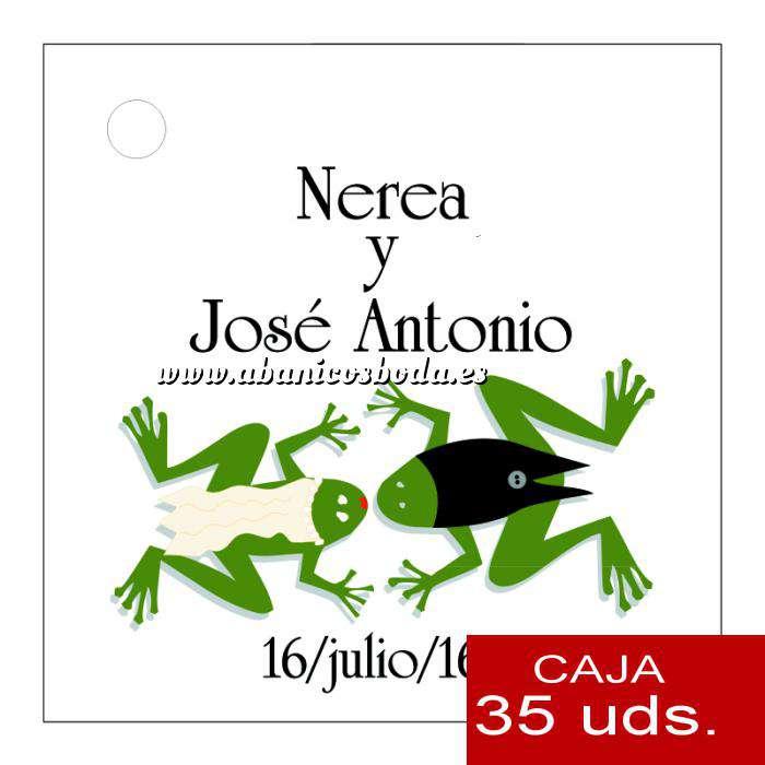 Imagen Etiquetas impresas Etiqueta Modelo D14 (Paquete de 35 etiquetas 4x4)