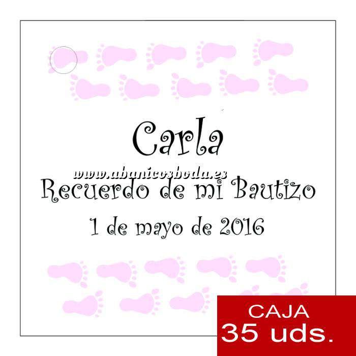 Imagen Etiquetas impresas Etiqueta Modelo D22 (Paquete de 35 etiquetas 4x4)