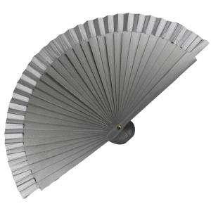 Abanico Liso 16 cm - Abanico Liso 16 cm Gris Plata (Últimas Unidades)