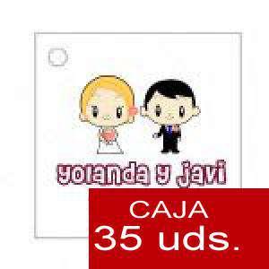 Imagen Etiquetas impresas Etiqueta Modelo C11 (Paquete de 35 etiquetas 4x4)