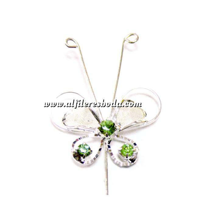 Imagen Alfileres OUTLET Alfiler Especial 76 (Mariposa Cristal Verde) (Últimas Unidades)