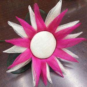 Complementos Alfileres - Bouquet Estrella para alfileres Fucsia (Últimas Unidades)