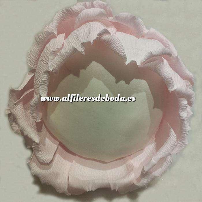 Imagen Complementos Alfileres Bouquet Alfileres ROSA ROSA DE PAPEL