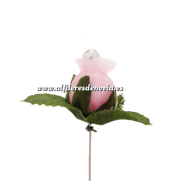 Imagen Alfileres clásicos Alfiler clásico 14 (capullo rosa claro)