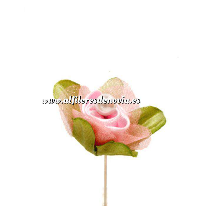 Imagen Alfileres clásicos Alfiler clásico 32b (raso gasa rosa)