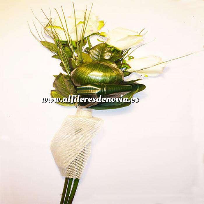 Imagen Complementos Alfileres Bouquet Ramo Rosas Blancas para alfileres (Últimas Unidades)