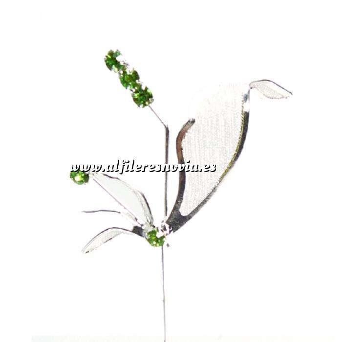 Imagen Alfileres especiales Alfiler Especial 54 (alfiler libélula VERDE)