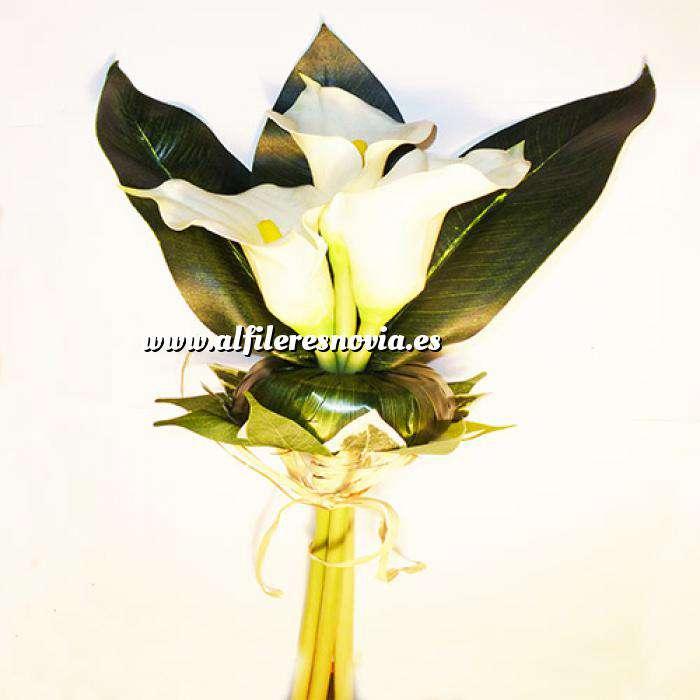 Imagen Complementos Alfileres Bouquet Vara Calas Blancas para alfileres (Últimas Unidades)