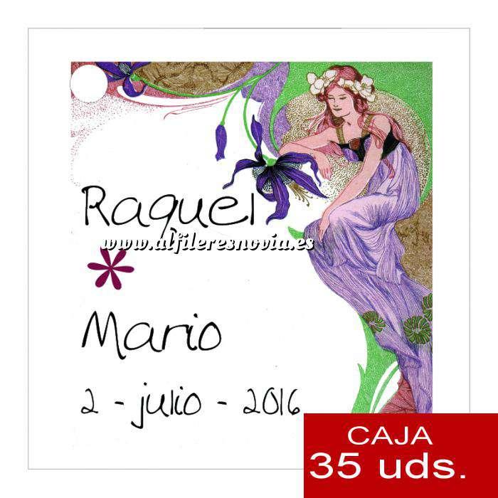 Imagen Etiquetas impresas Etiqueta Modelo A10 (Paquete de 35 etiquetas 4x4)