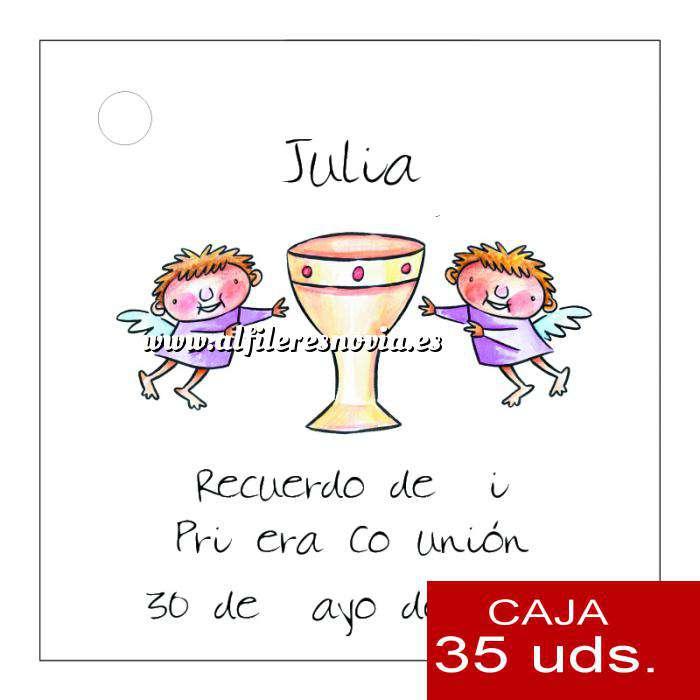 Imagen Etiquetas impresas Etiqueta Modelo A18 (Paquete de 35 etiquetas 4x4)