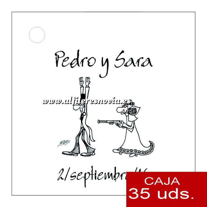 Imagen Etiquetas impresas Etiqueta Modelo B14 (Paquete de 35 etiquetas 4x4)