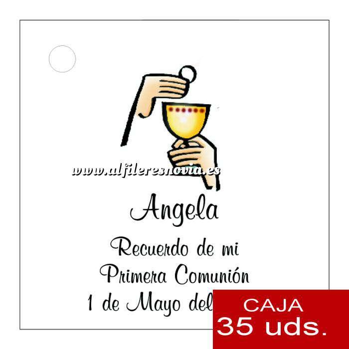 Imagen Etiquetas impresas Etiqueta Modelo B19 (Paquete de 35 etiquetas 4x4)