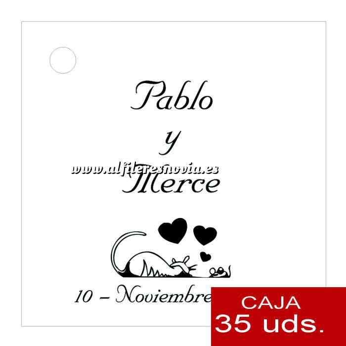 Imagen Etiquetas impresas Etiqueta Modelo C01 (Paquete de 35 etiquetas 4x4)