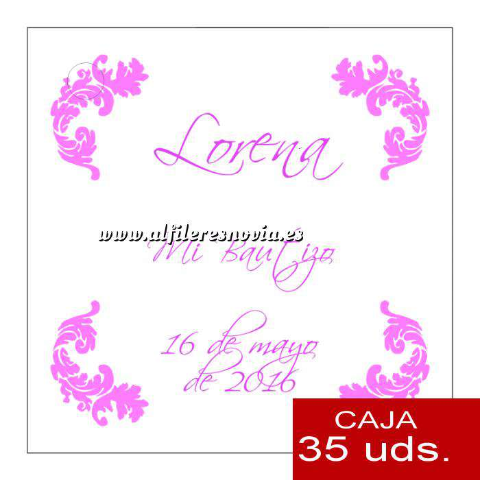 Imagen Etiquetas impresas Etiqueta Modelo C22 (Paquete de 35 etiquetas 4x4)