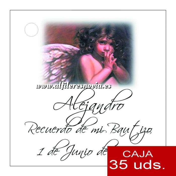 Imagen Etiquetas impresas Etiqueta Modelo D25 (Paquete de 35 etiquetas 4x4)