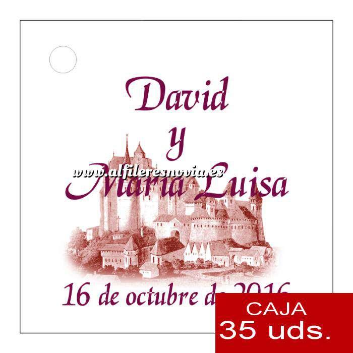 Imagen Etiquetas impresas Etiqueta Modelo F09 (Paquete de 35 etiquetas 4x4)