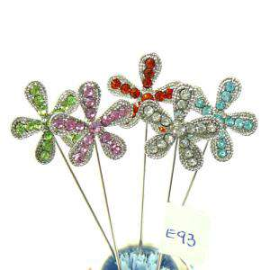 Alfileres OUTLET - Alfiler especial 93 (Margarita Cristal Colores) - DESCATALOGADO (Últimas Unidades)