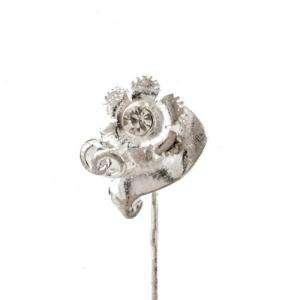 Alfileres especiales - Alfiler especial 29 (flor dos anillos)