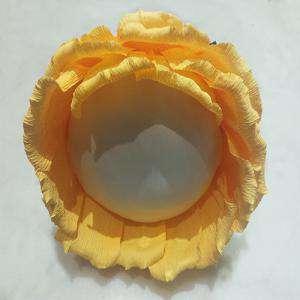 Complementos Alfileres - Bouquet Alfileres ROSA NARANJA DE PAPEL
