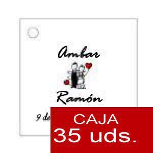 Imagen Etiquetas impresas Etiqueta Modelo A05 (Paquete de 35 etiquetas 4x4)