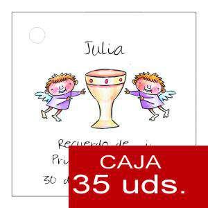 Etiquetas impresas - Etiqueta Modelo A18 (Paquete de 35 etiquetas 4x4)
