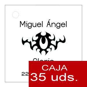 Etiquetas impresas - Etiqueta Modelo C16 (Paquete de 35 etiquetas 4x4)