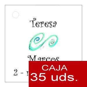 Etiquetas impresas - Etiqueta Modelo D06 (Paquete de 35 etiquetas 4x4)