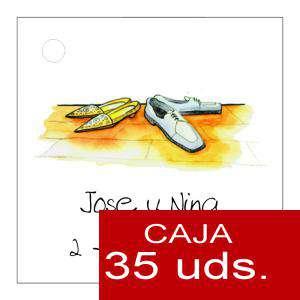 Etiquetas impresas - Etiqueta Modelo E05 (Paquete de 35 etiquetas 4x4)