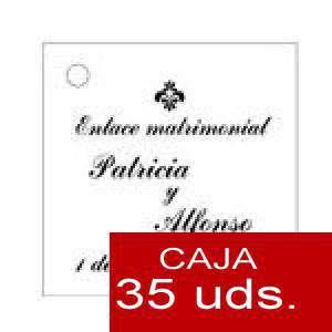 Imagen Etiquetas impresas Etiqueta Modelo F03 (Paquete de 35 etiquetas 4x4)