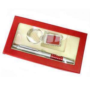 Boligrafos - Boligrafo y llavero en caja roja (Últimas Unidades)