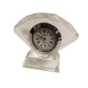 Marcos y decoración - Reloj de cristal abanico